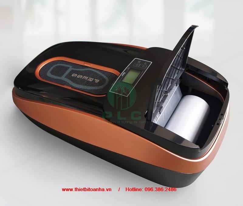 Dia chi ban may boc giay phong sach tai Hanoi automatic shoe cover machine cleanroom thietbitoanha.vn 2 Công ty bán máy bọc giầy phòng sạch tại Hà Nội