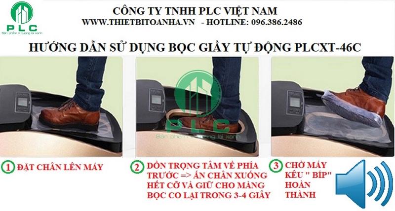 Hướng dẫn sử dụng 2 1600x1200 Bán máy bọc giầy phòng kỹ thuật cao tại Hà Nội