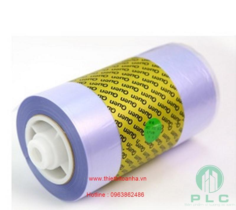 màng PVC bọc giầy2 Cuộn màng bọc giầy tự động