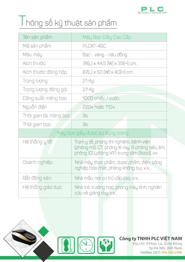 trang 3 may boc giay cao cap PLCXT 46C Bán máy bọc giầy tự động tại Sài Gòn