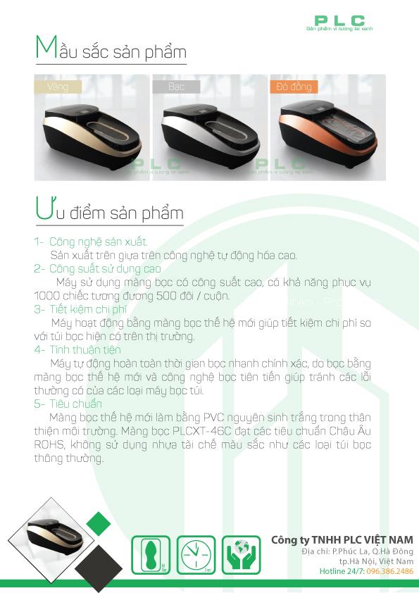 trang 4 may boc giay cao cap PLCXT 46C Bán máy bọc giầy tự động tại Sài Gòn