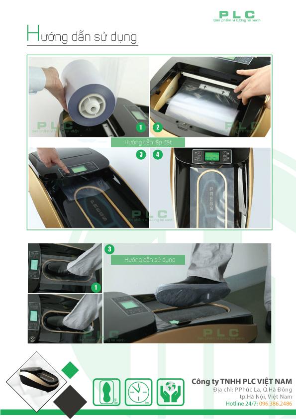 trang 5 may boc giay cao cap PLCXT 46C Máy bọc giầy tự động Quen