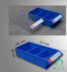 Tủ đựng linh kiện 10 ngăn