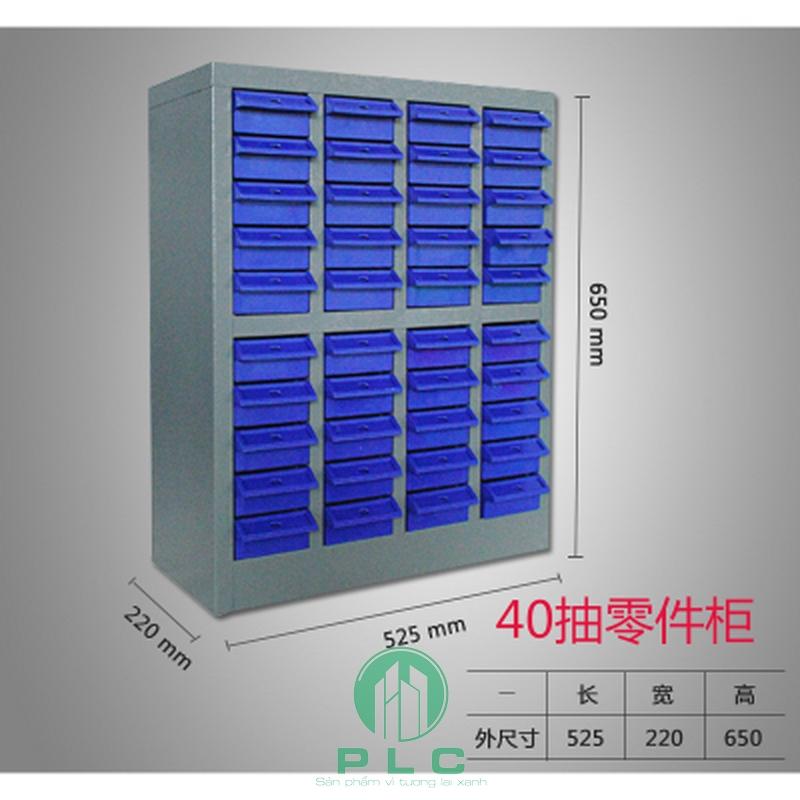 tủ 40 ngăn tudunglinhkien Tủ đựng phụ kiện linh kiện 40 ngăn