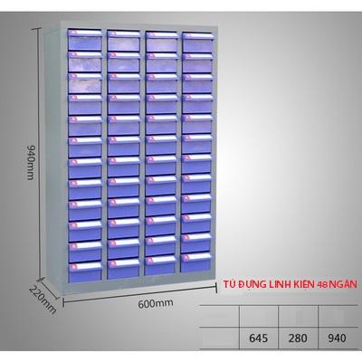 Tủ đựng linh kiện 48 ngăn kéo Tủ đựng linh kiện 48 ngăn