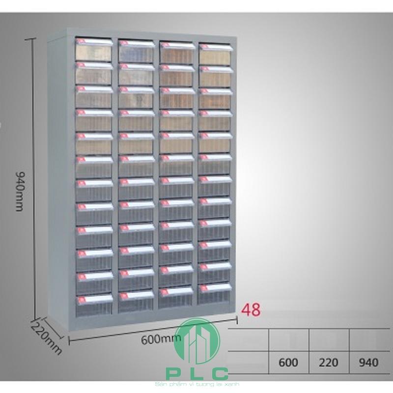 Tủ đựng linh kiện 48 ngăn tudunglinhkien Tủ đựng linh kiện 48 ngăn
