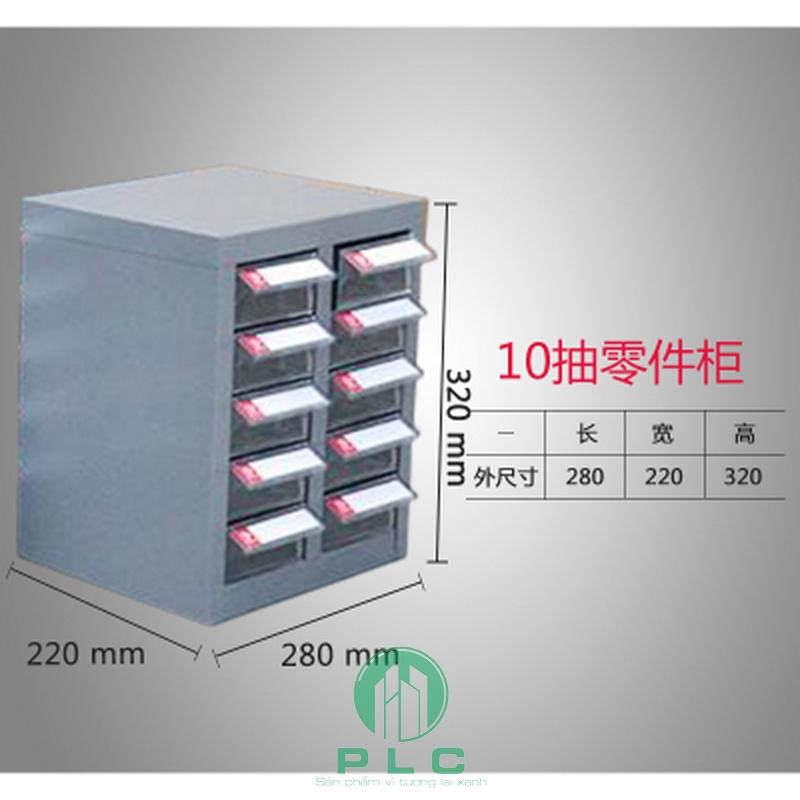tủ 10 ngăn tudunglinhkien Tủ đựng linh kiện 12 ngăn