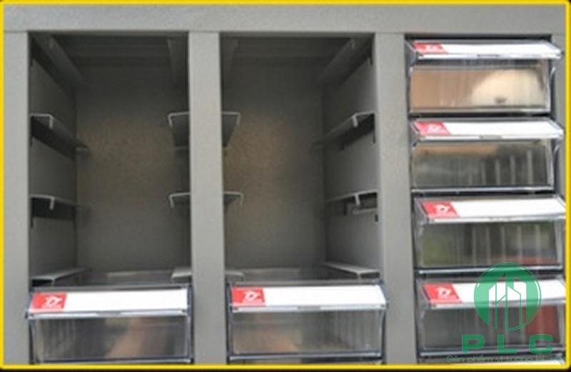 tu linh kien chống tĩnh điện cao cấp Tủ đựng linh kiện 12 ngăn